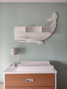 Ράφι σε σχήμα φάλαινας